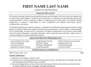 37 real estate resume sles to help you vntask