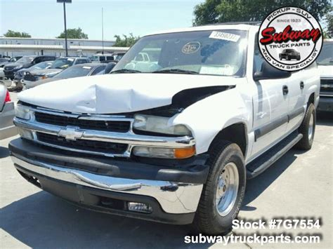 used parts 2002 chevrolet suburban 1500 5 3l 4x4 subway truck parts inc auto recycling