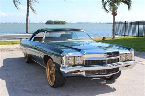 1973 chevy impala convertible for sale 1973 chevrolet impala customized for sale photos