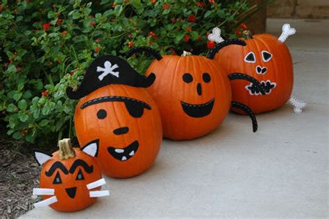 cool  carve pumpkin decorating ideas