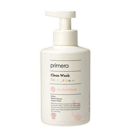 Primera Baby Clean Shoo 250ml primera baby clean wash best korean skincare product