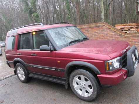 used 2003 land rover discovery 2 5 td5 s 5 seat 5dr for
