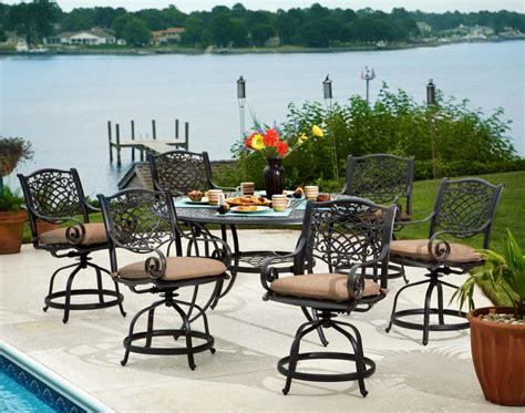 Furniture Summerfield Piece Patio Balcony Height Set Hom Balcony Height Patio Chairs