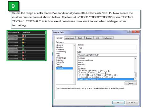 custom text format excel 2007 excel custom number formatting how to conditionally
