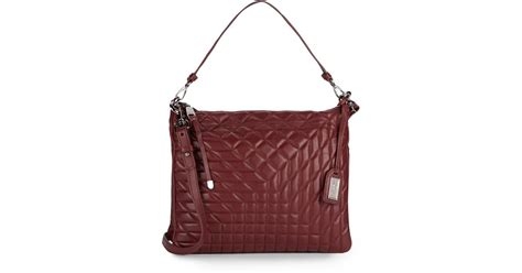 Badgley Mischka Maclaine Clutch by Badgley Mischka Coralie Quilted Leather Convertible Clutch