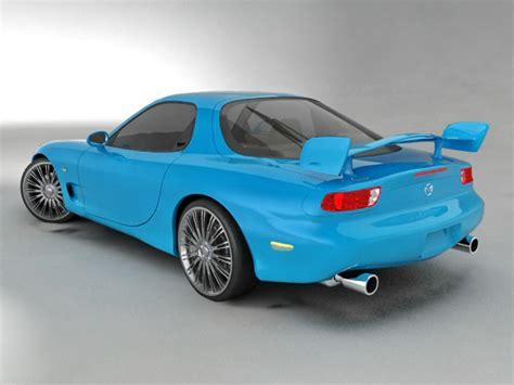 mazda sports car models mazda rx 8 sports car 3d model 3ds max files free
