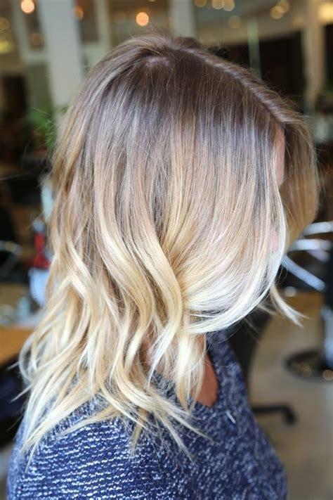 medium ash blonde hair tumblr mechas californianas ombre hair antes e depois
