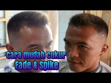 skin fade rambut  indonesia youtube