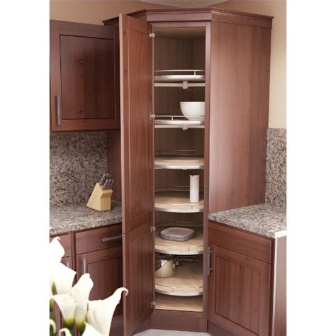 Lazy Susan Kitchen Cabinet by Vauth Sagel Corner Maxx Lazy Susan Tray Set With