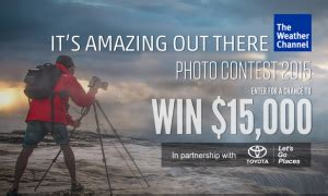 Weather Channel Giveaway - weather channel win 15 000 cash and more cash prizes by july 16 giveawayus com