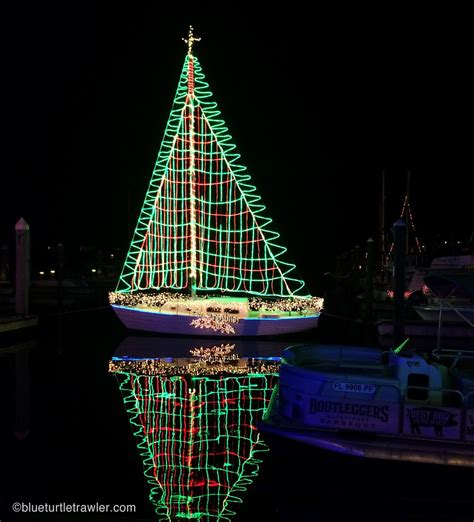 boat lights stay on fmb christmas boat parade salty sam s quot stay cation