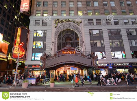 film drama new york paramount theatre times square manhattan nyc editorial