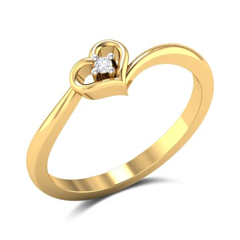 Buy Ring by Buy Fair Engagement Ring In 1 88 Gms