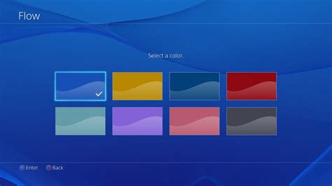ps4 themes creator ps4 background light blue playstation blog flickr