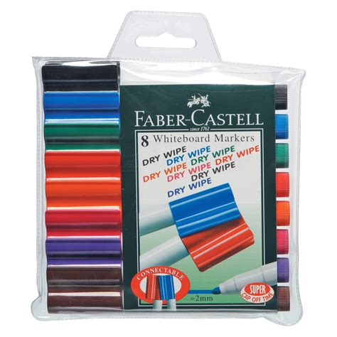 Faber Castell Connector faber castell connector whiteboard markers assorted 8 pack