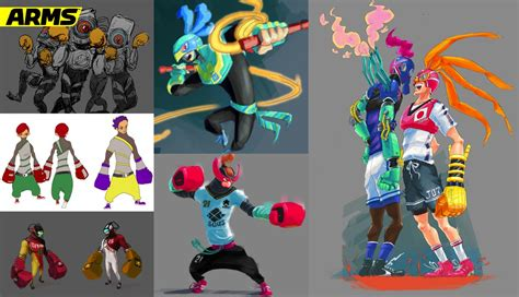 arms producer shows  prototypes concept art