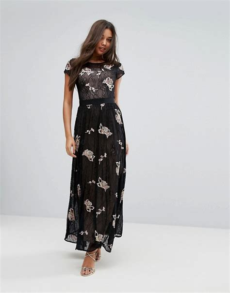 Maxi Dress Miss Andin miss selfridge miss selfridge lace and floral