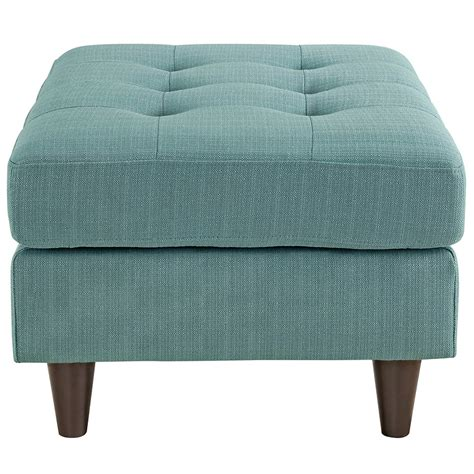 Light Blue Ottoman Enfield Modern Light Blue Ottoman Eurway Furniture