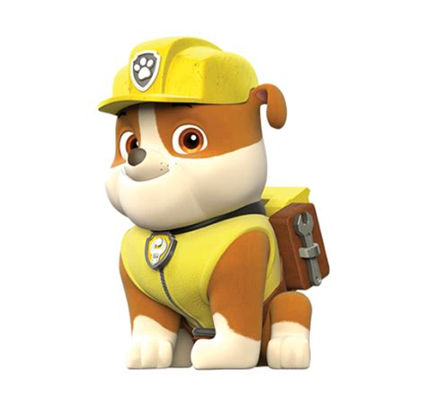 paw patrol party rubble png pictures to pin on pinterest image rubble png png paw patrol wiki fandom powered