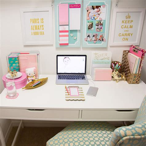 how to decorate a desk desk decor google search study workspace pinterest