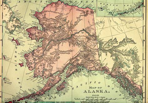 map alaska alaska map free large images