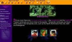missouri botanical gardens biomes rainforest links