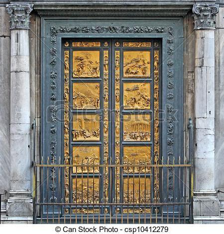 porte duomo image de ghiberti paradis baptist 232 re bronze porte
