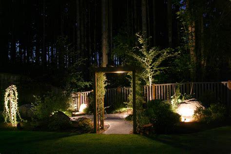 Outdoor Lighting Seattle Seattle Landscape Lighting