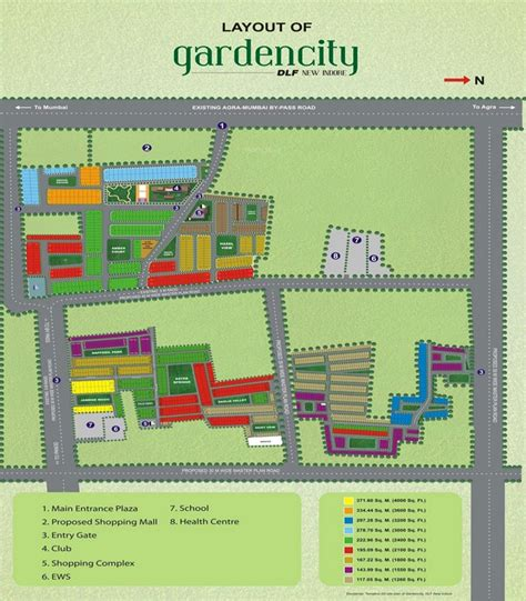 layout plan of garden city dlf garden city in manglia indore price location map