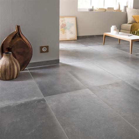 peinture carrelage sol effet beton cire 3585 carrelage sol et mur anthracite effet b 233 ton harlem l 40 x