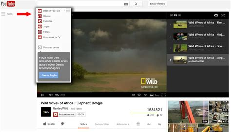 youtube no layout como acessar o novo layout do youtube 2013