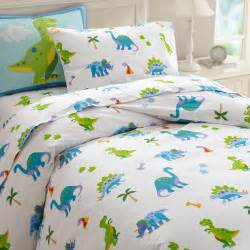 dinosaurland blue green dinosaur bedding