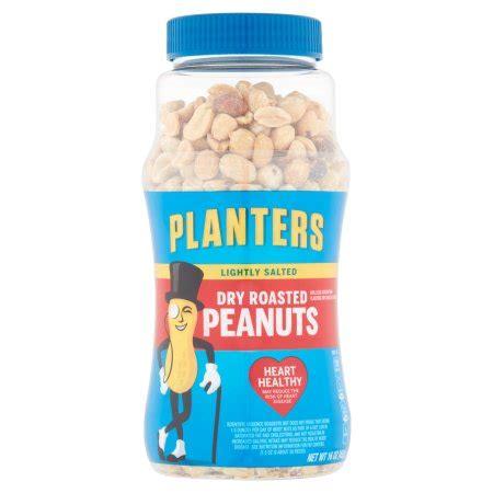 kroger lightly salted peanuts planters dry roasted peanuts lightly salted 16 0 oz