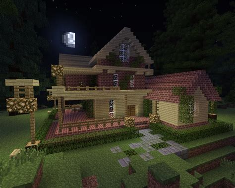 minecraft country house minecraft country house style timelapse youtube