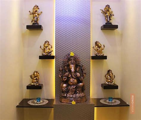 Home Interior Design Vadodara by 150 Beautiful Puja Room Photos In India