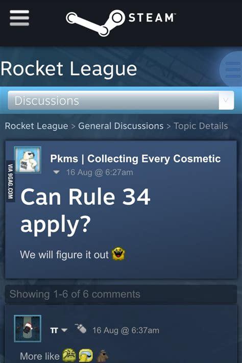 rule  rocket league gag