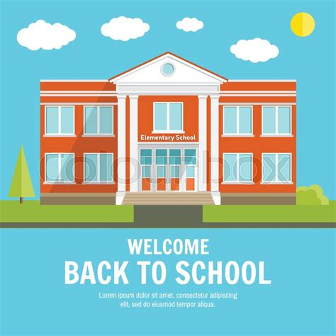 welcome back to school template welcome back to school background with place for your text