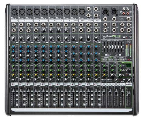 Mixer Mackie 6 Channel mackie 16 channel professional effects mixer with usb