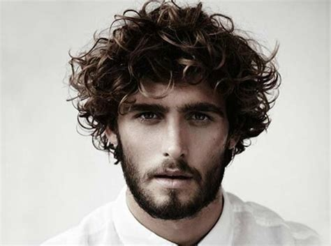 can hair be slightly curly or wavy best hairstyles for men with curly hair men s style