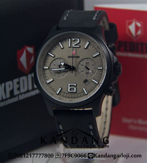 harga jam tangan expedition e6657 abu abu original