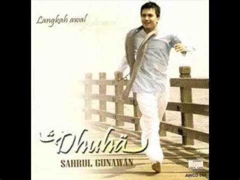 Cd Original Sahrul Gunawan Dhuha sahrul gunawan dhuha
