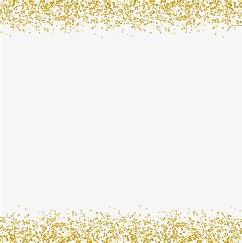 Border Gold gold sequins decorative borders vector material gold