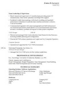 Resume Qualifications Examples by Resume For It Management Susan Ireland Resumes