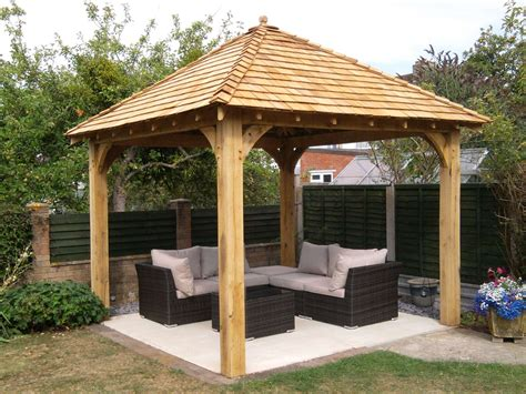 wooden gazebo oak frame gazebos wooden gazebos