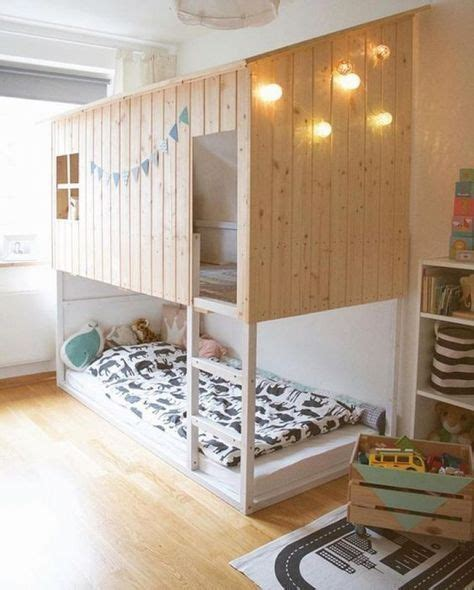 ikea hack kura bed into modern cabin vintery mintery 625 best ikea hacks for kids and grown ups images on