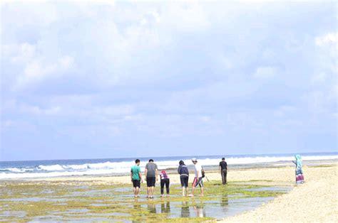 pantai ombak tujuh ujung genteng sukabumi destinasi