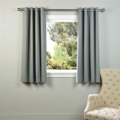 grey blackout curtains grommet exclusive fabrics furnishings neutral grey grommet