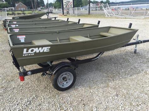 lowe jon boats used 2016 lowe jon l1040 10 foot 2016 lowe boat in la porte