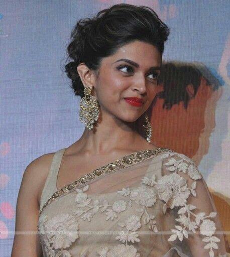 Deepika Hairstyles In Saree   the 25 best deepika padukone hair ideas on pinterest