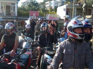 anamur polisinden kask dagitimi haber wwwanamurunsesicom